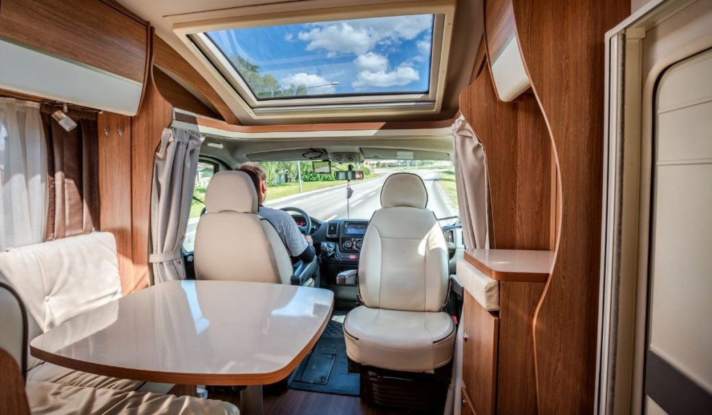 RV interior new layout